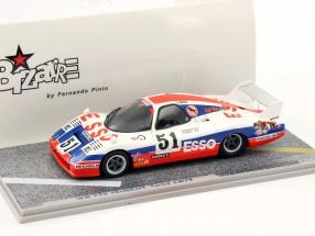 Peugeot WM P79 Turbo #51 Le Mans 24h 1979 Dorchy / Morin 1:43 Spark Bizarre