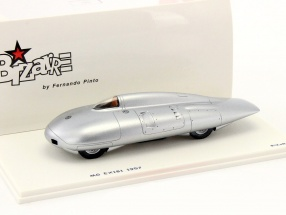 MG EX181 Record Test Car 1957 silver metallic 1:43 Spark Bizarre