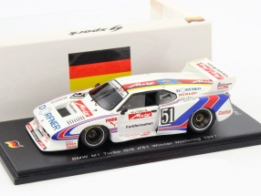 BMW M1 Turbo GR5 #51 Winner Norisring 1981 H. J. Stuck 1:43 Spark