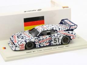BMW M1 Turbo Schnitzer Libri #51 H.-J. Stuck 1:43 Spark