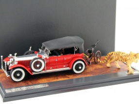 Rolls Royce Phantom Barker Torpedo Tourer year 1925 red / silver / black 1:43 Matrix