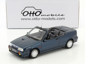 Renault 19 16S Cabriolet Baujahr 1991 blau 1:18 OttOmobile
