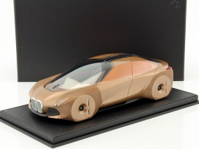 BMW Vision Next 100 Concept Car 2016 kupfer mit Vitrine 1:18 BBR