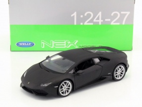 Lamborghini Huracan LP 610-4 year 2015 mat black 1:24 Welly