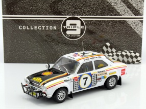 Ford Escort MK 1 RS 1600 #7 Winner Safari Rallye 1972 Mikkola, Palm 1:18 Triple9