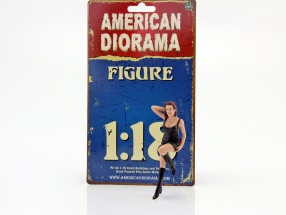 70er Jahre figure I 1:18 American Diorama