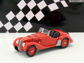 BMW 328 year 1936 red 1:18 Minichamps