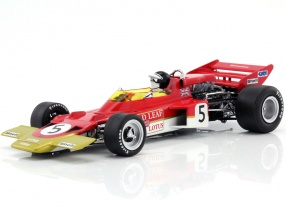 Jochen Rindt Lotus 72C #5 World Champion Great Britain GP formula 1 1970 1:18 Quartzo