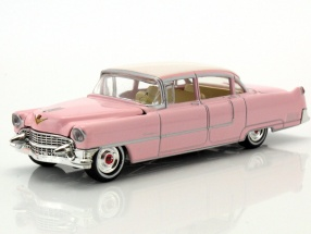 Set: Elvis figure 1:18   Cadillac Fleetwood Series 60 1955 pink 1:64 Greenlight