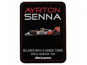 Ayrton Senna Pin McLaren
