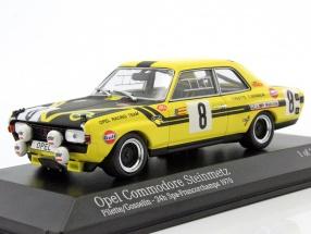 Opel Commodore A Steinmetz #8 24h Spa 1970 Pilette, Gosselin 1:43 Minichamps