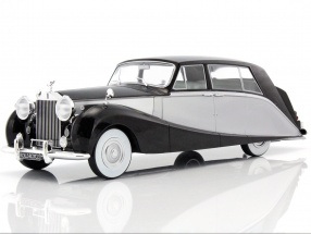 Rolls Royce Silver Wraith Empress by Hooper black / silver 1:18 Model Car Group