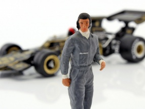 Emerson Fittipaldi Driver figure Lotus 1:43 FigurenManufaktur