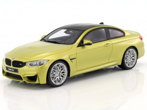 BMW M4 Coupe Competition Package kiwi gelb 1:18 GT-Spirit