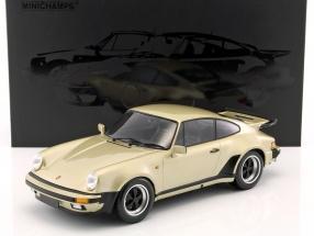 Porsche 911 (930) Turbo Baujahr 1977 gold metallic 1:12 Minichamps