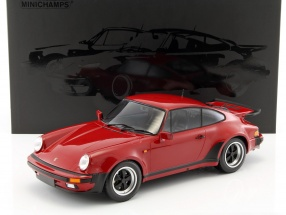 Porsche 911 (930) Turbo year 1977 carmine red 1:12 Minichamps