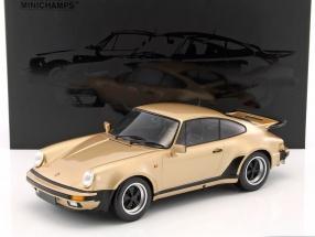 Porsche 911 (930) Turbo Baujahr 1977 bronze metallic 1:12 Minichamps
