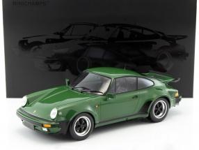 Porsche 911 (930) Turbo Baujahr 1977 oak dunkel grün 1:12 Minichamps