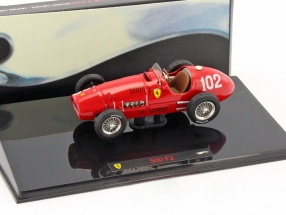 A. Ascari Ferrari 500 F2 #102 Formula 1 World Champion 1952 1:43 HotWheels Elite
