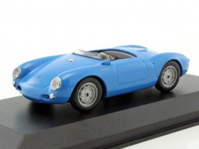 Porsche 550 Spyder year 1955 Light Blue 1:43 Minichamps