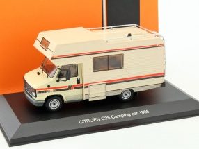 Citroen C25 camping Car year 1985 beige 1:43 Ixo