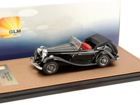 Mercedes-Benz 290A Cabriolet Open Top year 1936 black 1:43 GLM