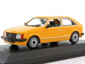 Opel Kadett D year 1979 orange 1:43 Minichamps