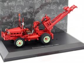 Raimündle Traktor Baujahr 1967 rot 1:43 Dongguan
