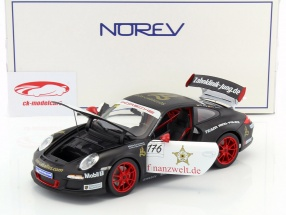 Porsche 911 GT3 RS #176 Team Ring Police SportsCup 2011 1:18 Norev