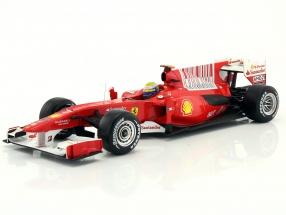 Felipe Massa Ferrari F10 formula 1 2010 1:18 HotWheels