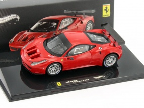 Ferrari 458 GT2 Plain Body Launch Version red 1:43 HotWheels Elite