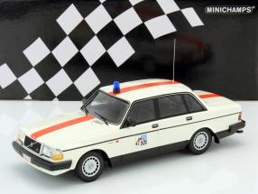 Volvo 240 GL Politie Belgien 1986 1:18 Minichamps