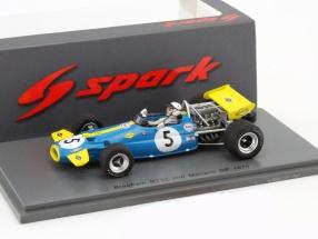 Jack Brabham Brabham BT33 #5 2nd Monaco GP Formel 1 1970 1:43 Spark