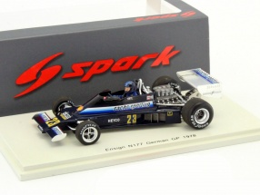 Harald Ertl Ensign N177 #23 Germany GP formula 1 1978 1:43 Spark