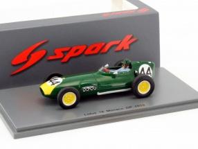 Bruce Halford Lotus 16 #44 Monaco GP Formel 1 1959 1:43 Spark