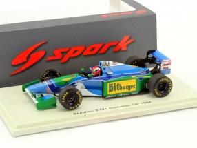 Johnny Herbert Benetton B194 #6 Australien GP Formel 1 1994 1:43 Spark