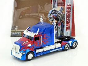 Western Star 5700 XE Phantom Movie Transformers 5 blue / red 1:24 Jada Toys