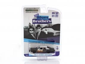 Dodge Monaco Jake and Elwoods Bluesmobile The Blues Brothers 1:64 Greenlight