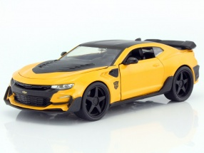 Chevrolet Camaro Bumblebee year 2016 Movie Transformers 5 yellow / black 1:24 Jada Toys