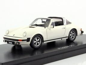 Porsche 911 Targa year 1975 grandprix white 1:43 Schuco