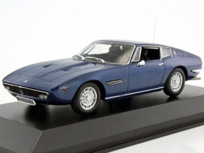 Maserati Ghibli Coupé 1969 blue metallic 1:43 Minichamps