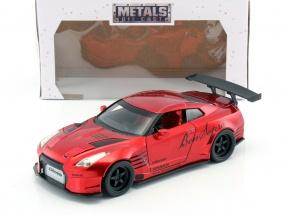 Nissan GT-R (R35) Ben Sopra Baujahr 2009 rot 1:24 Jada Toys