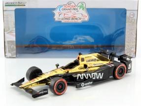 James Hinchcliffe Honda #5 Winner Long Beach GP IndyCar Series 2017 1:18 Greenlight