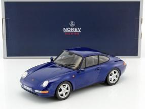 Porsche 911 Carrera year 1994 iris blue metallic 1:18 Norev