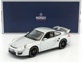 Porsche 911 GT2 Baujahr 2007 silber 1:18 Norev