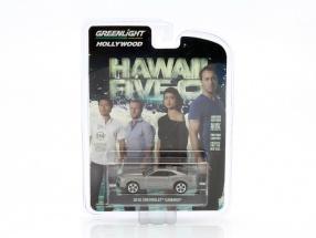Chevrolet Camaro Baujahr 2010 TV-Serie Hawaii Five-0 silber 1:64 Greenlight