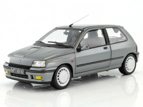 Renault Clio 16S year 1991 tungstene gray 1:18 Norev