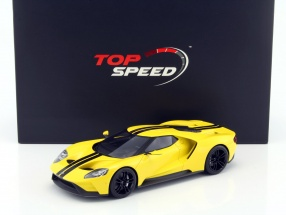 Ford GT Los Angeles Auto Show 2015 triple gelb 1:18 TrueScale