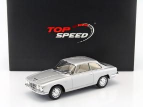 Alfa Romeo 2600 Sprint Baujahr 1962 silber 1:18 TrueScale