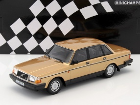 Volvo 240 GL year 1986 gold 1:18 Minichamps